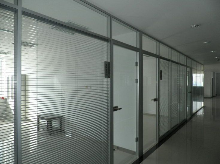 成都办公室玻璃隔断装修设计认准成都大名玻璃隔断高隔间