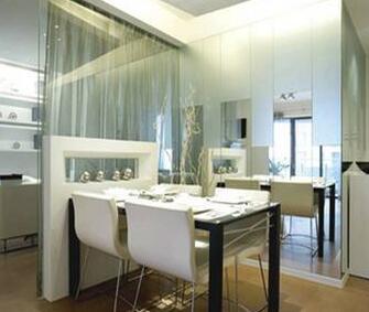 玻璃隔断家装优点廉价性