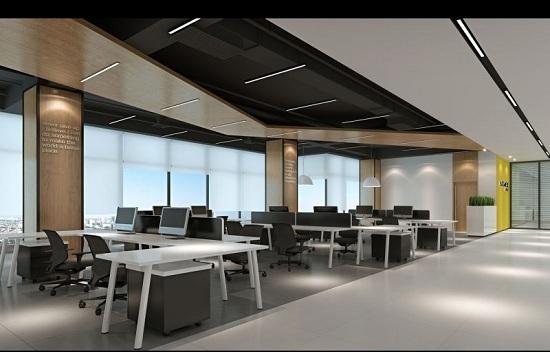 成都办公区玻璃隔断工程,成都办公区玻璃隔断工程案例