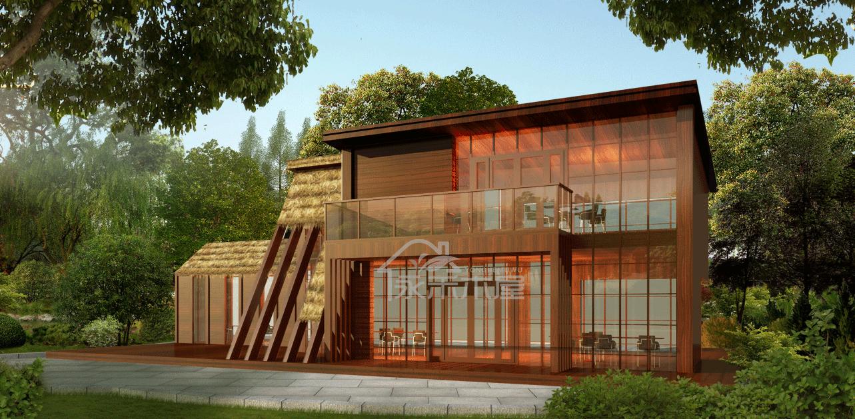 装配式防腐木木屋