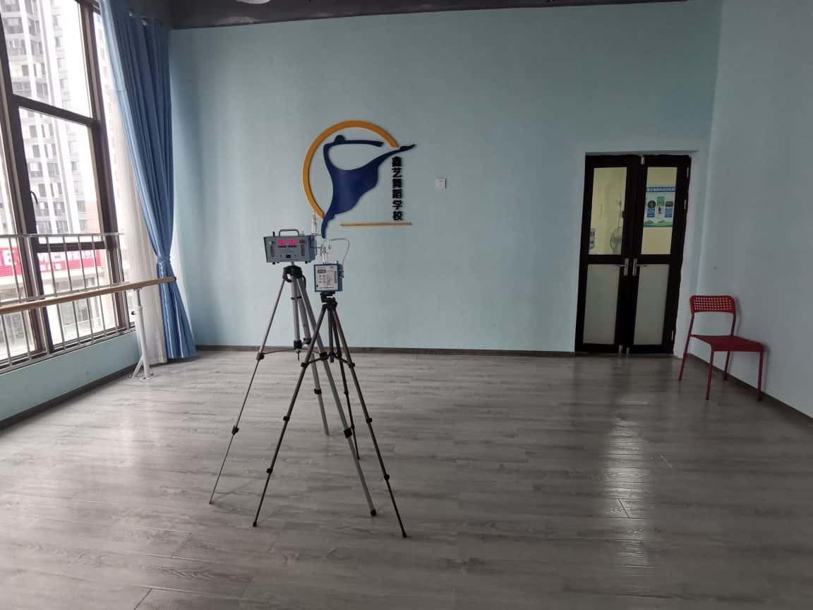 崇州市室内空气检测案例(鑫艺艺术培训学校)