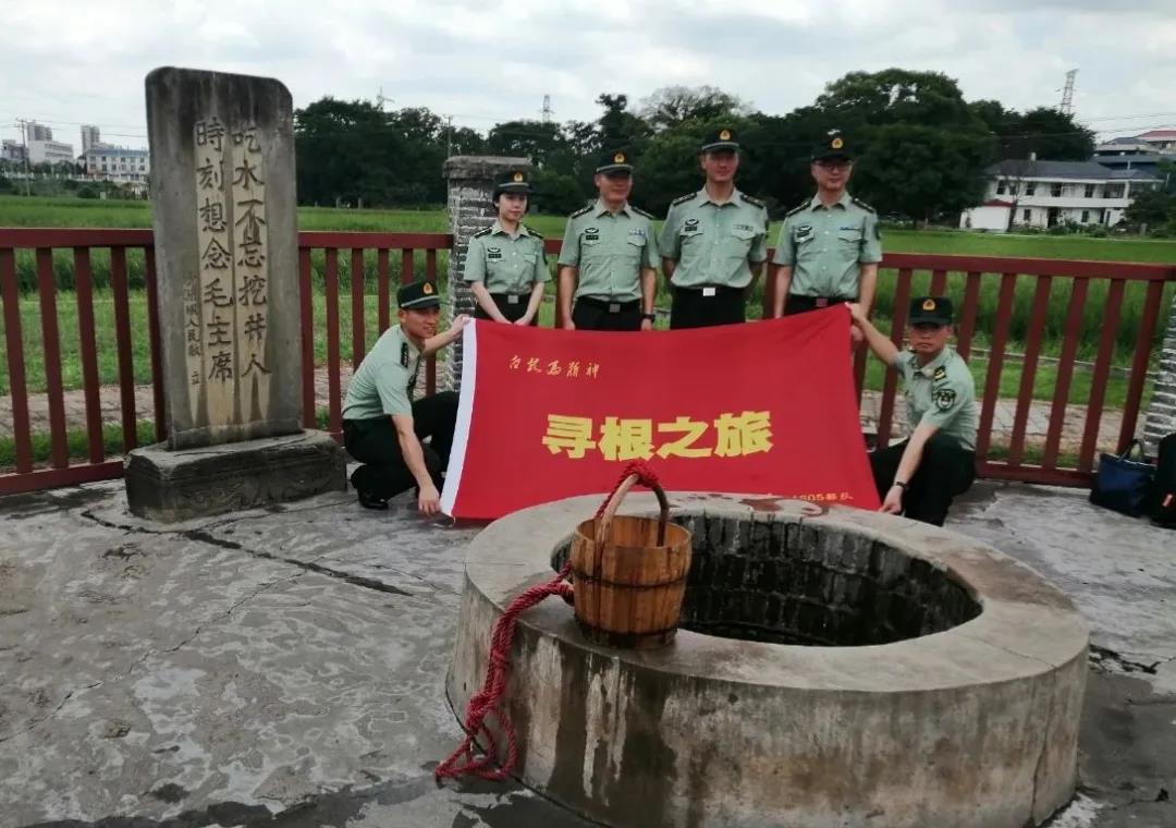 和毛主席一起挖红井的部队,回瑞金挂牌啦!