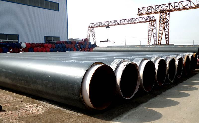 供暖管道用聚乙烯保温螺旋钢管