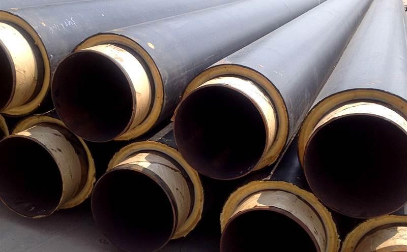小区供暖用聚氨酯保温钢管