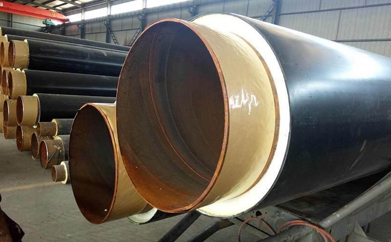 聚氨酯预制直埋保温钢管