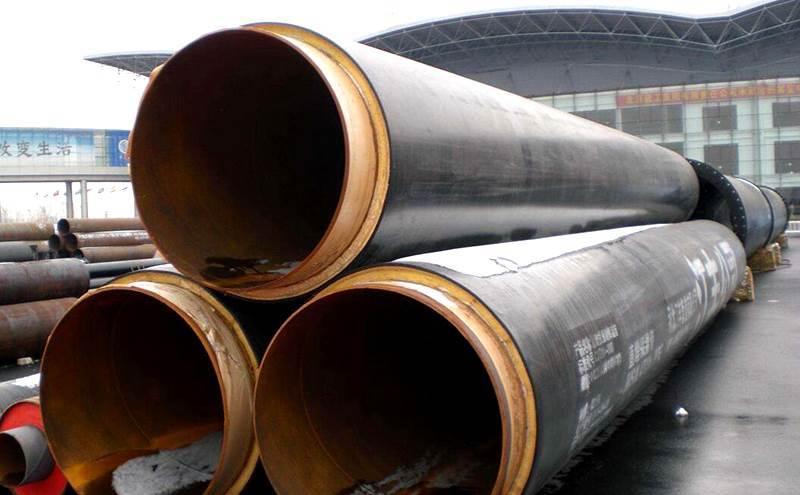 成都市政热力工程用的聚氨酯保温钢管