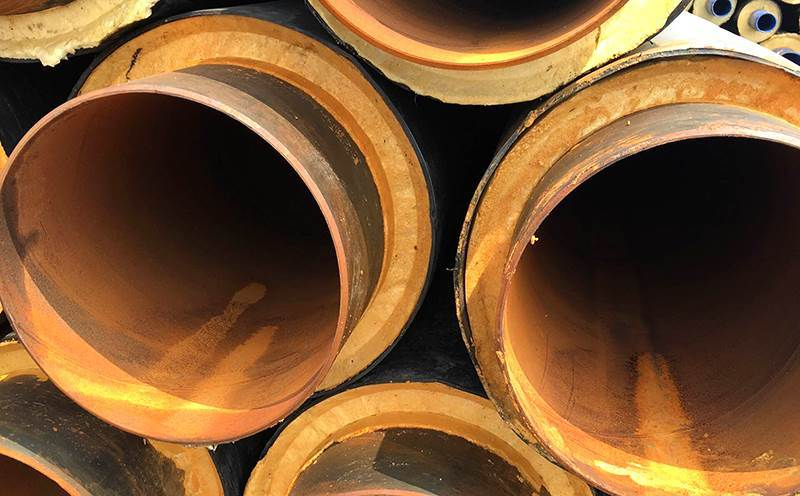供暖用直埋式聚氨酯发泡保温钢管