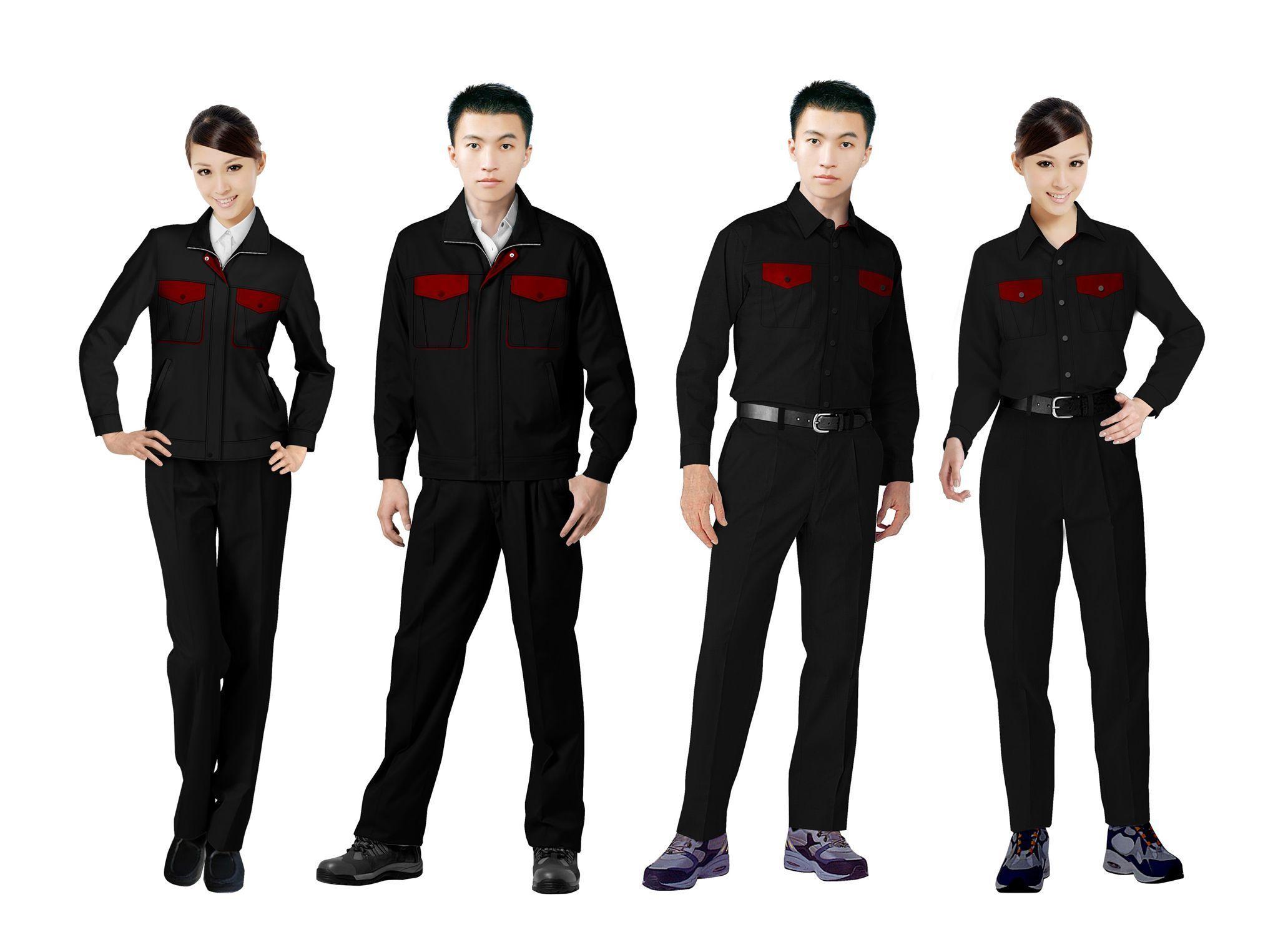 工作服设计图系列方案06