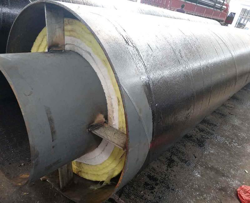 钢套钢蒸汽直埋保温管厂