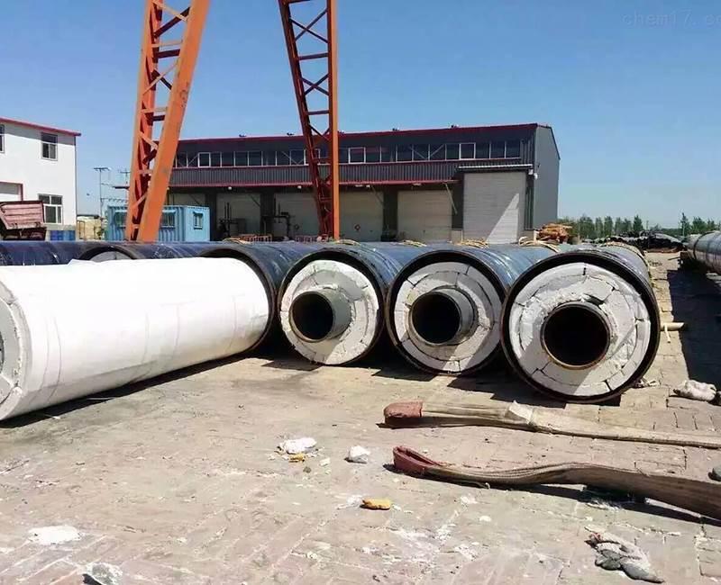 钢套钢保温直缝钢管蒸汽管道用钢套钢岩棉保温钢管