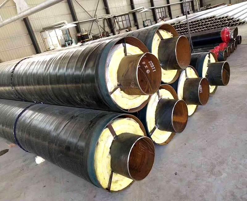 小区供暖用保温钢管加工厂家