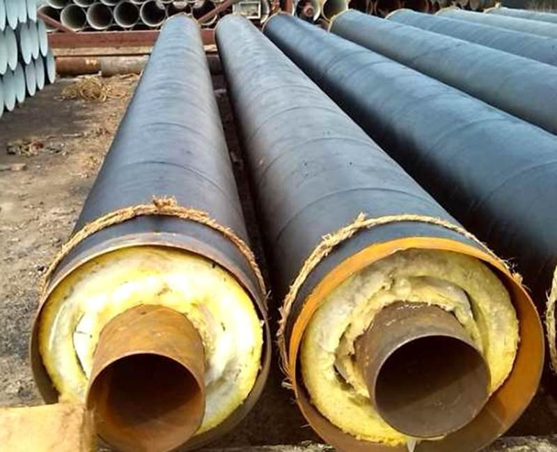 河北预制直埋钢套钢蒸汽保温管