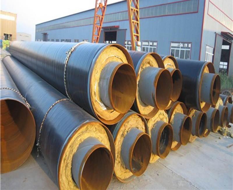 预制钢套钢复合保温管厂家
