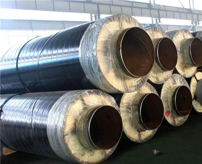 蒸汽管道專用鋼套鋼直埋保溫鋼管