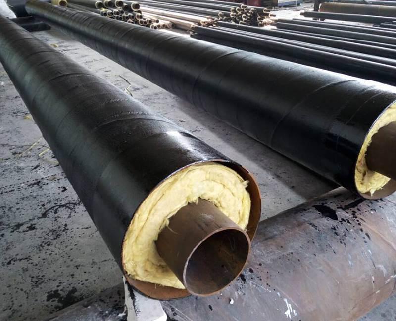 钢套钢蒸汽直埋保温钢管生产厂家
