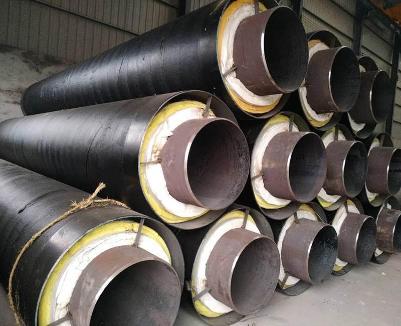 供热用钢套钢保温钢管