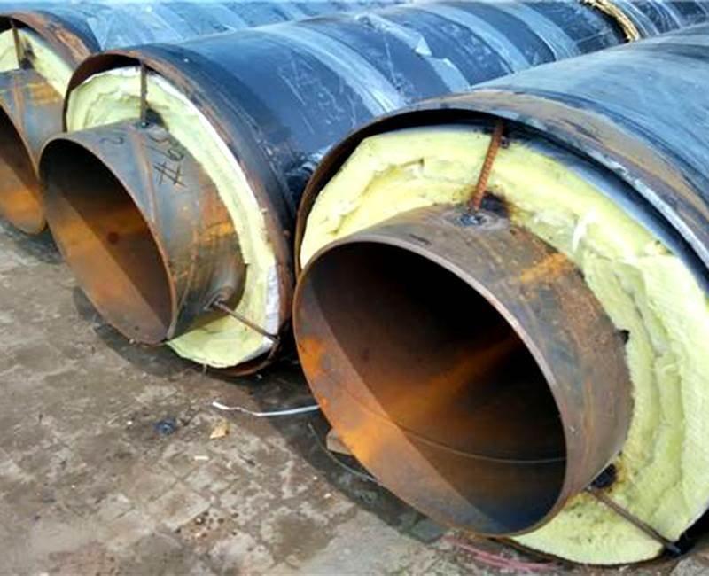 37钢套钢蒸汽岩棉保温钢管价格