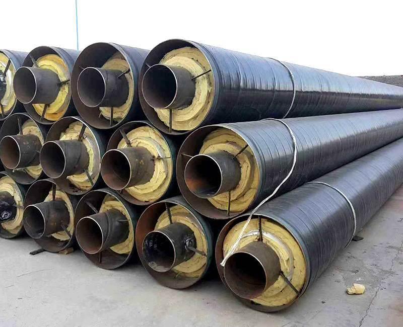 钢套钢岩棉保温管生产厂家