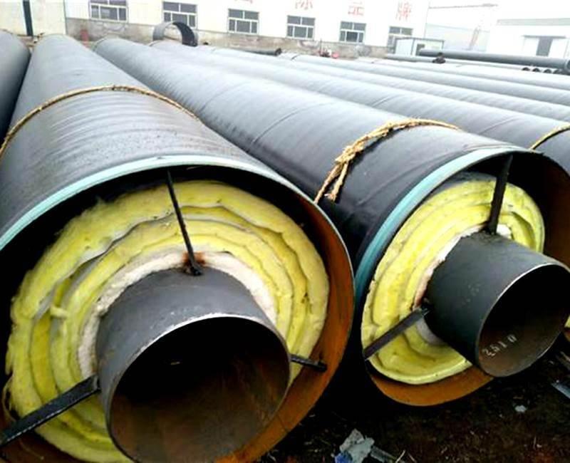 供热管道用钢套钢直埋保温钢管