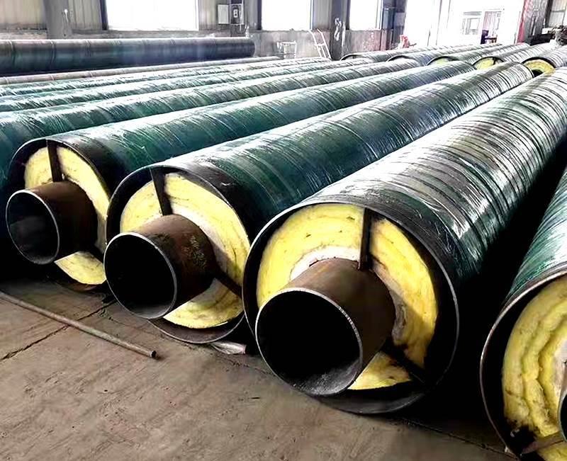 河北市政供暖钢套钢保温钢管