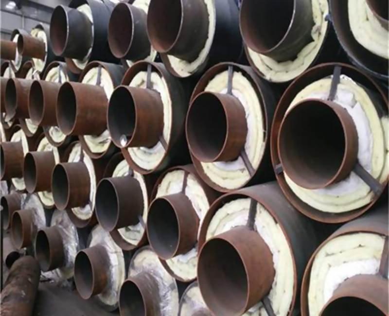 河北钢套钢蒸汽直埋保温无缝钢管