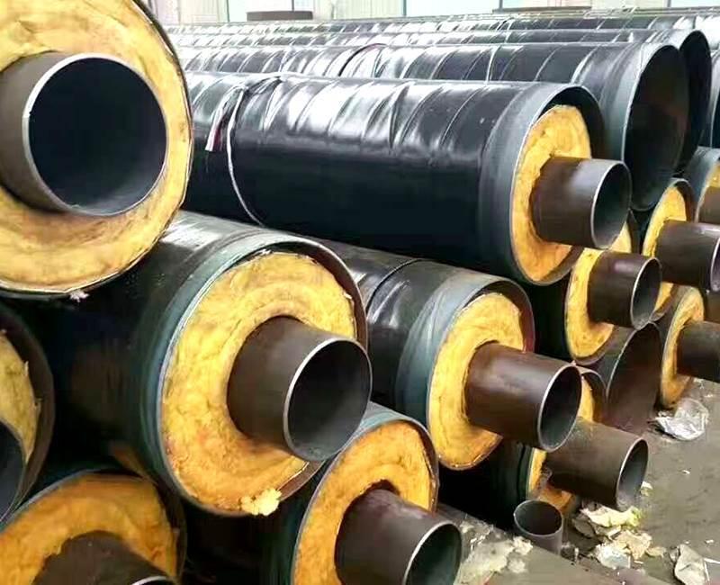 沧州蒸汽管道专用钢套钢直埋保温钢管