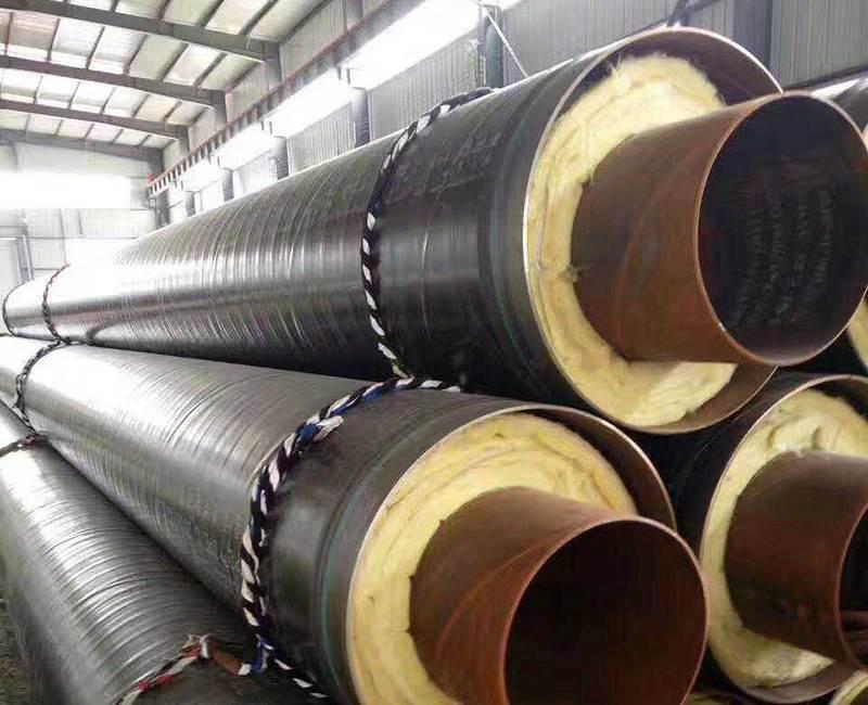 河北钢套钢预制直埋保温管厂家