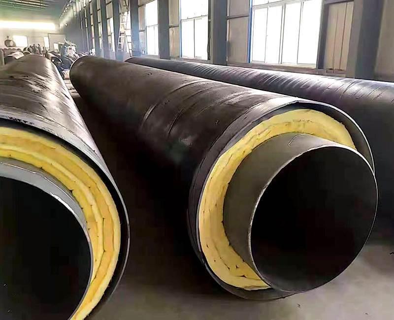 小区供热用地埋保温钢管加工厂家