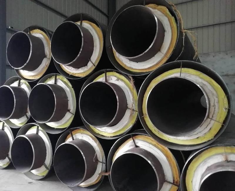 热力直埋钢套钢保温管厂家
