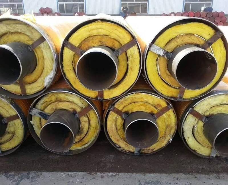河北直埋钢套钢蒸汽保温钢管生产厂