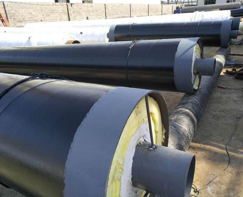 沧州预制直埋钢套钢保温钢管价格