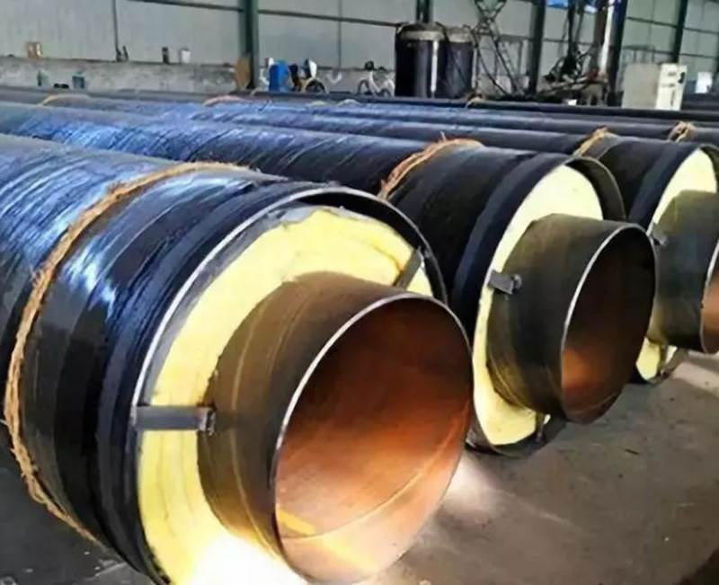 预制直埋钢套钢保温螺旋钢管价格