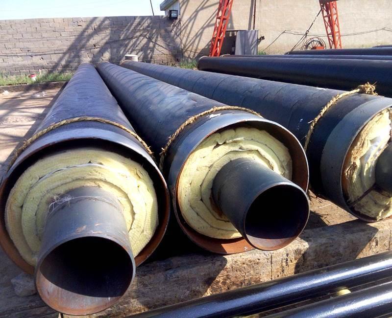 外滑动钢套钢直埋式预制蒸汽保温管厂家