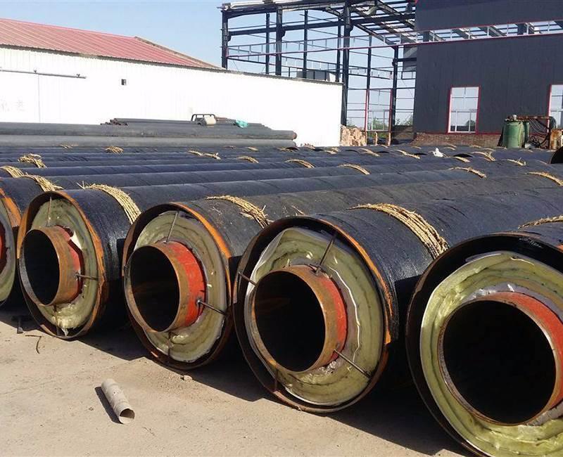 钢套钢直埋式保温管厂家直销