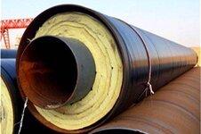 预制直埋钢套钢保温管