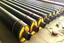 钢套钢聚氨酯保温钢管价格