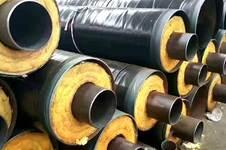 鋼套鋼巖棉蒸汽保溫鋼管