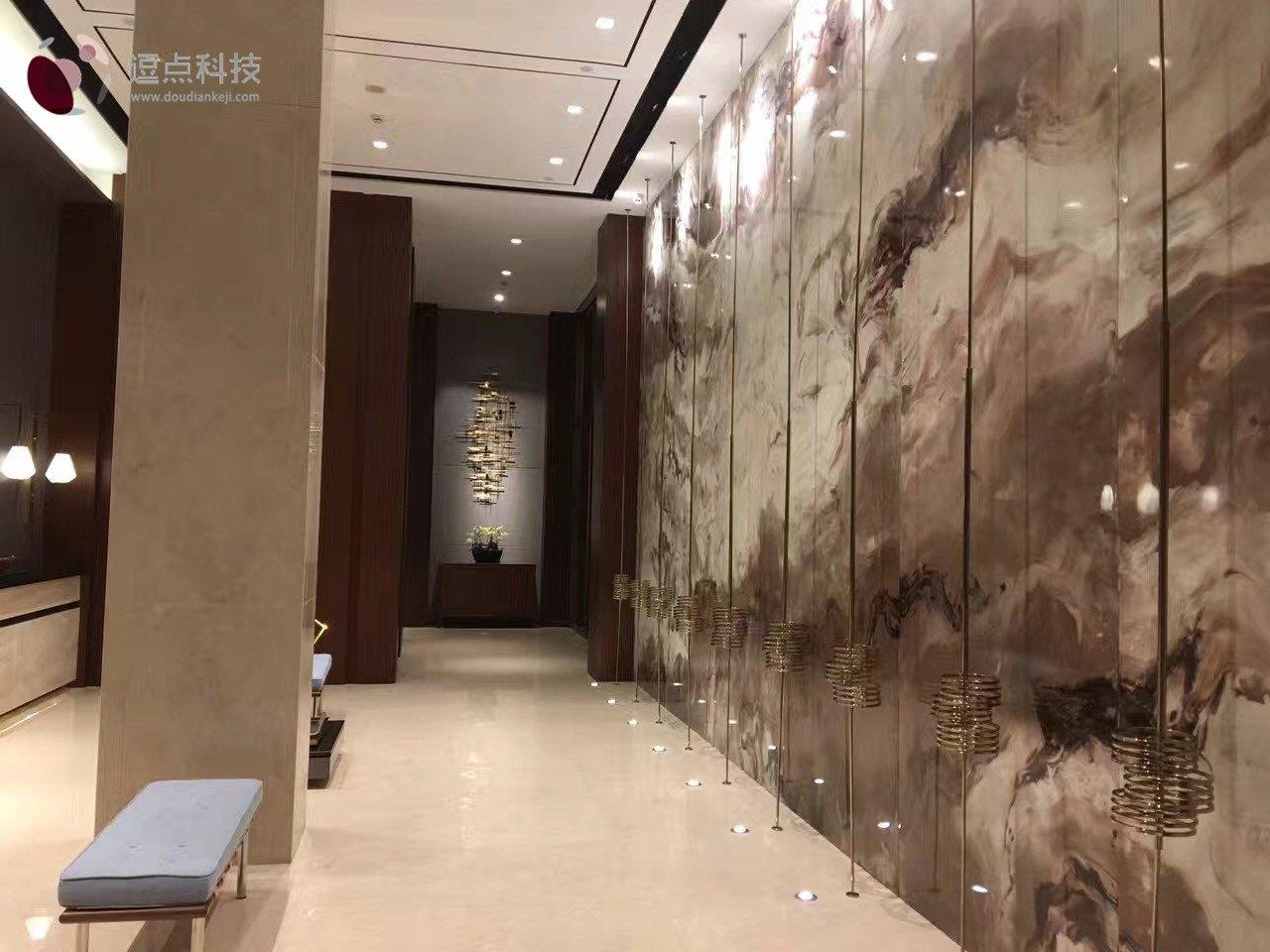 上海和颐酒店背景墙