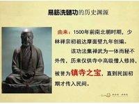 易筋洗髓功——传承1500年的少林养生秘术