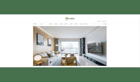 室内设计网站模板