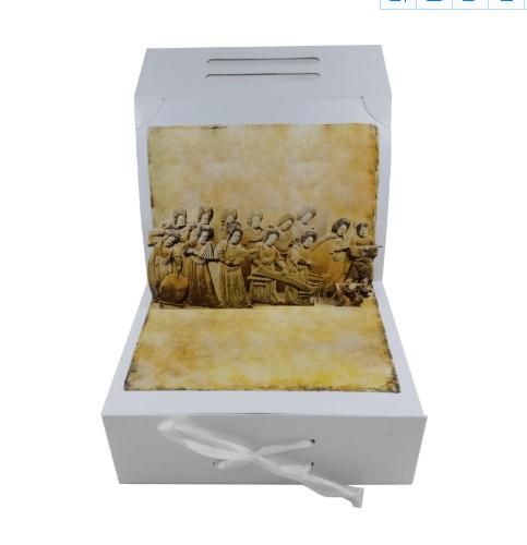 高端礼盒定制开发立体结构个性独特立体礼盒