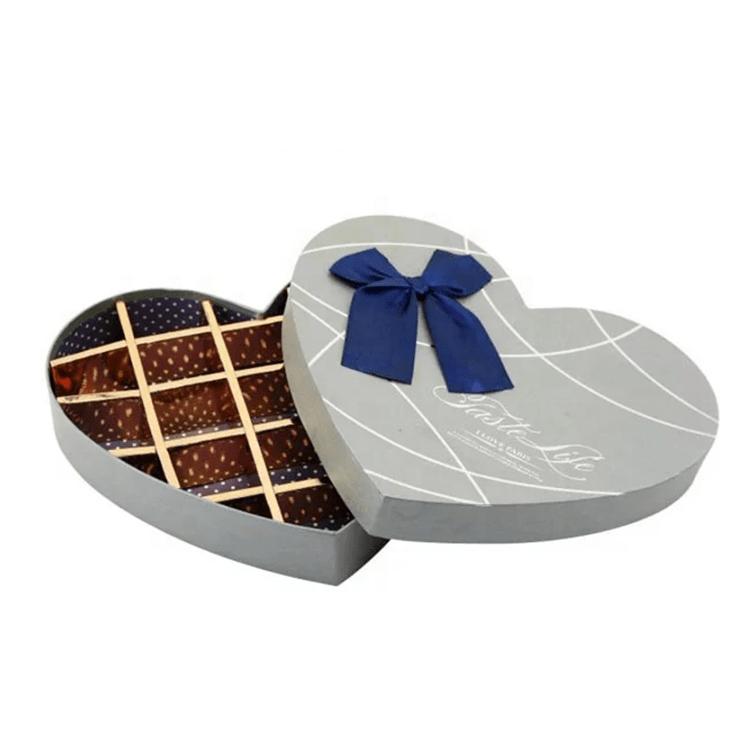 巧克力爱心礼盒情人节高档礼盒心形礼品盒