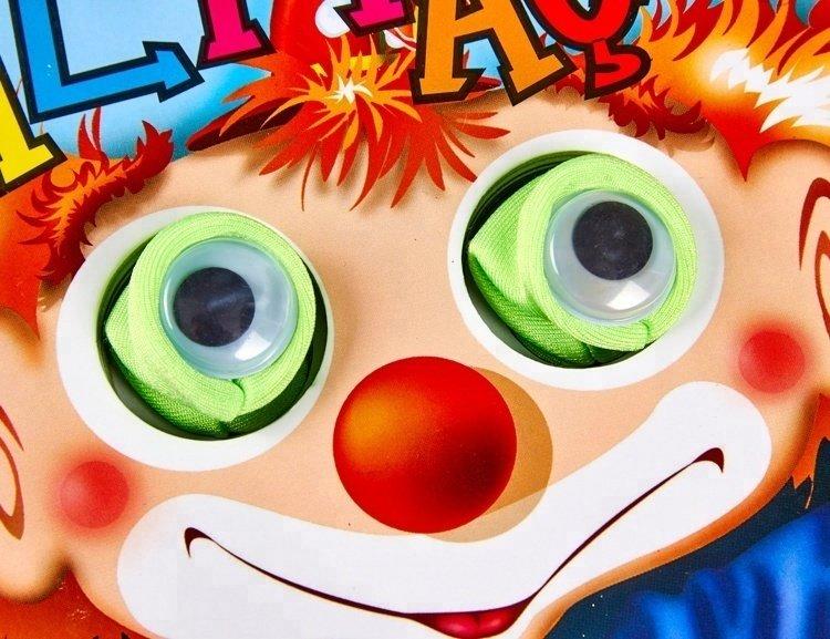活动的眼睛儿童纸板书布偶纸板书手指玩偶纸板书