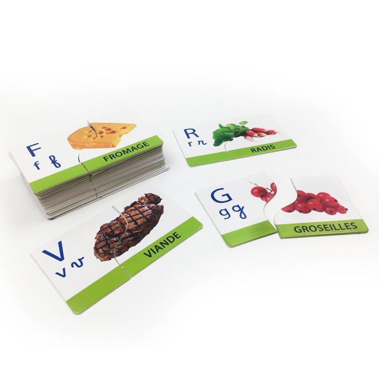字母学习卡单词学习卡客户定制卡片礼盒