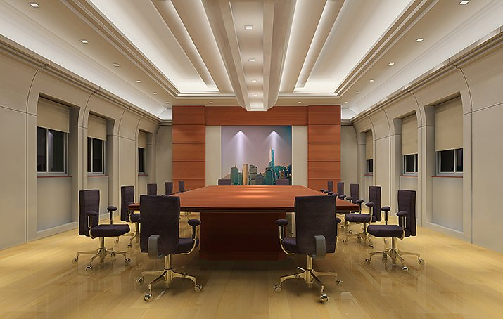 会议室装修设计效果图 .jpg