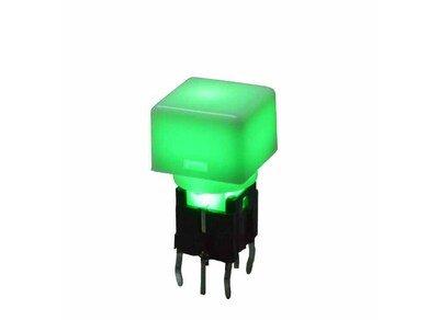 带灯轻触开关TS1-00-1LG-0N-2S