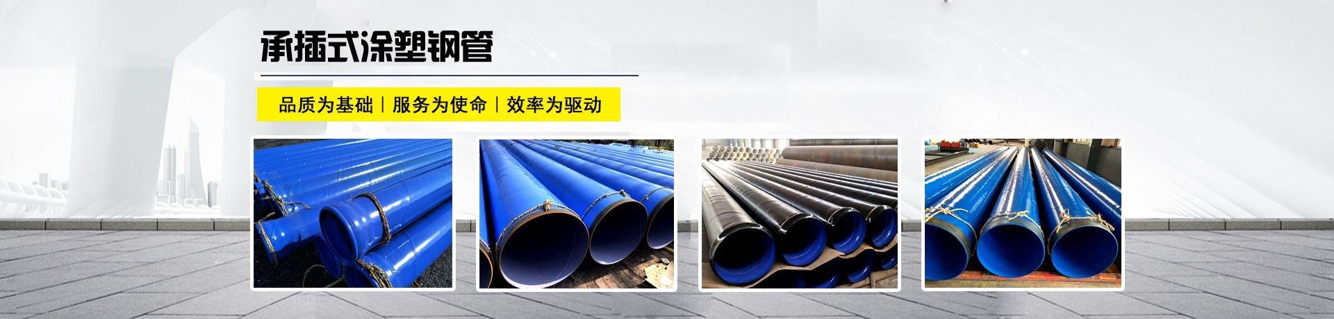 承插式涂塑钢管产品资讯