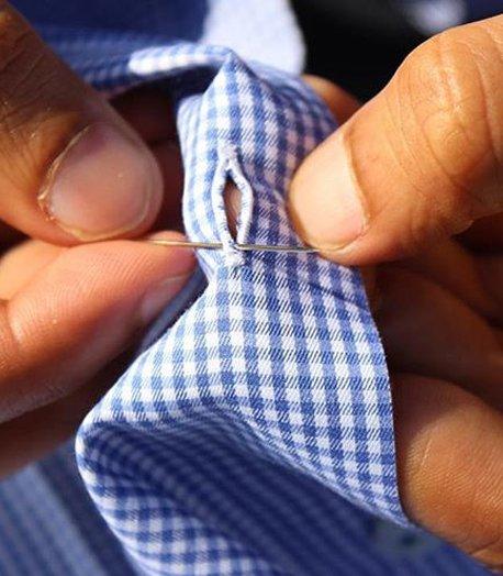 重庆衬衫定做工艺方法