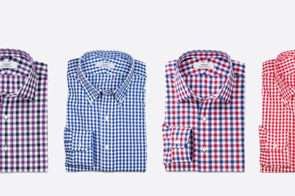 重庆格子衬衫定制
