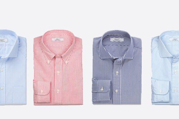 重庆条纹衬衫定制